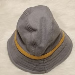 Gap Light Blue Tan Stripe Hat